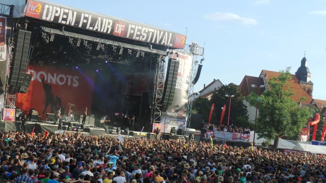 Das Open Flair Festival 2014 © f1rstlife / Rebecca Wagner