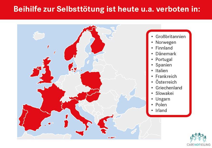 Quo vadis Deutschland? © care not killing
