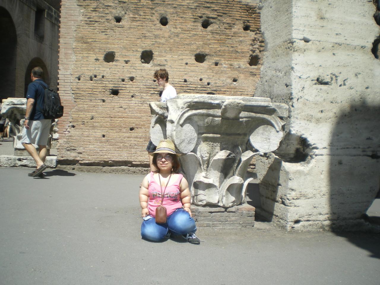 Nicht nur den Golf von Neapel besuchte sie im Urlaub, vor vier Jahren erkundete sie Rom.