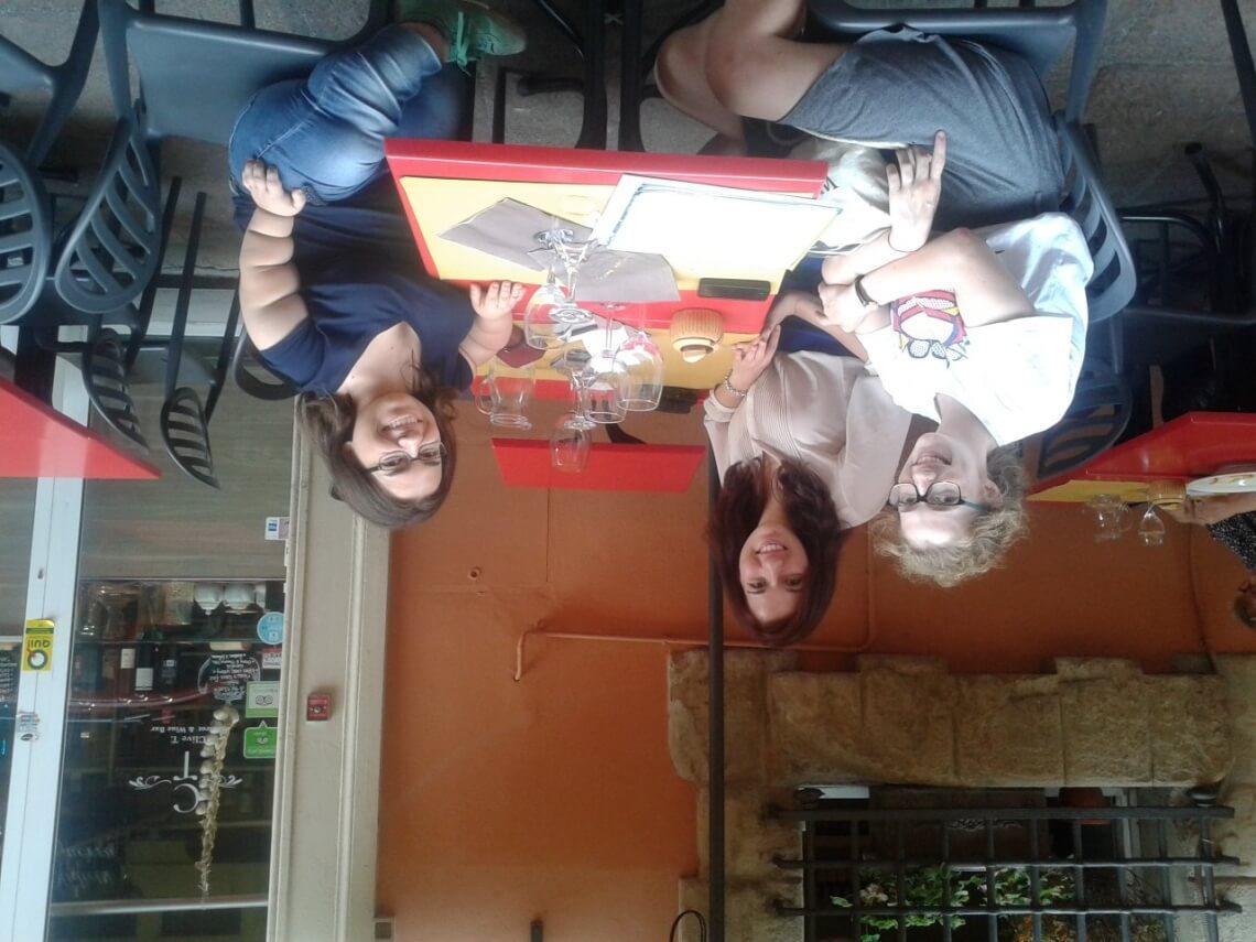 Olivia, Madeleine und ich. Andrea Schöne/f1rstlife