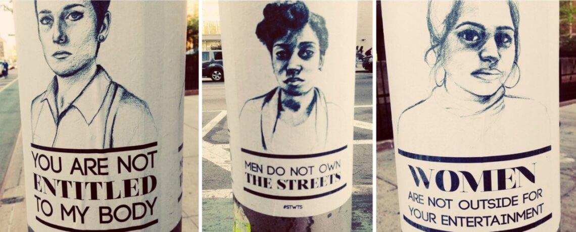Der New Yorker Fotograf Jeffrey Zeldman entdeckte diese Plakate, als er seine Tochter zur Schule begleitete. © flickr