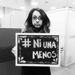"""""""Ni Una Menos"""" steht für """"Nicht Eine Mehr"""" © Patricia Yovera Soto"""