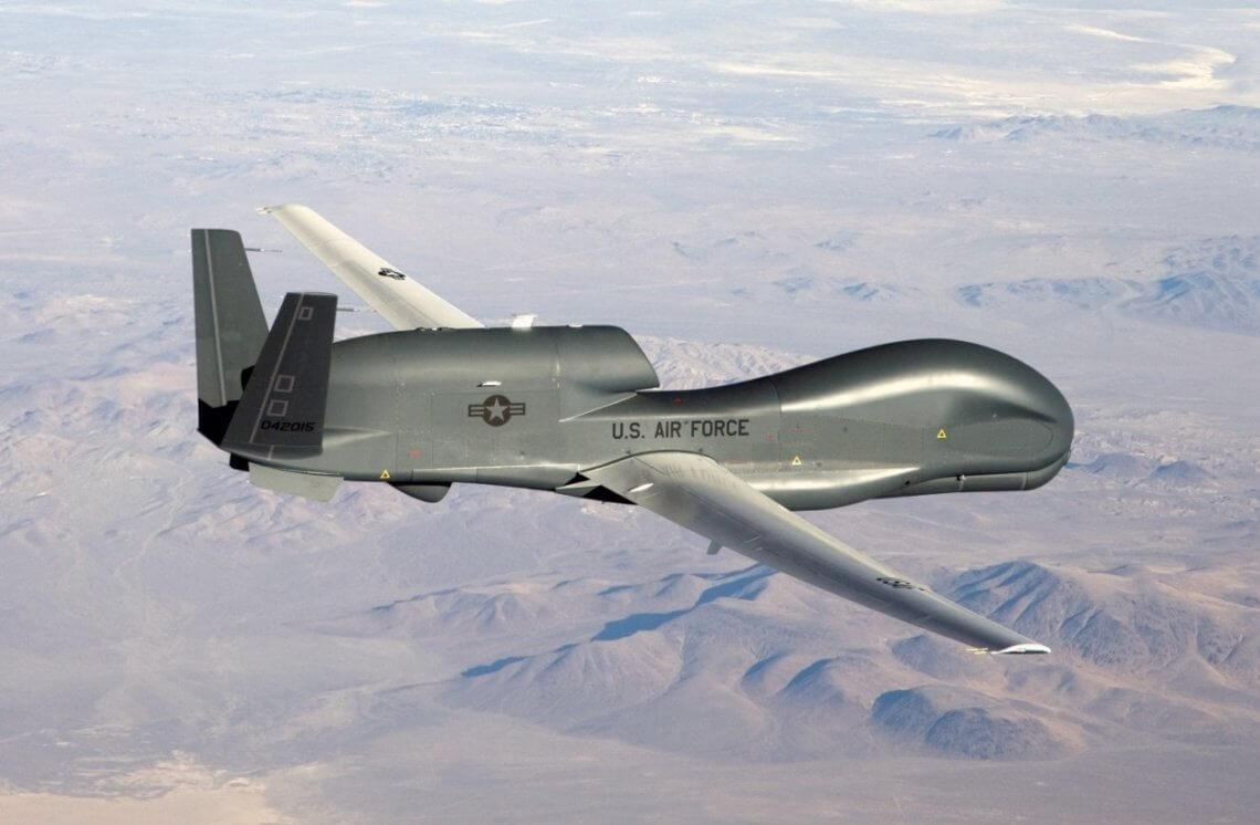 © wikipedia / Eine unbemannte Drohne des US-Militärs