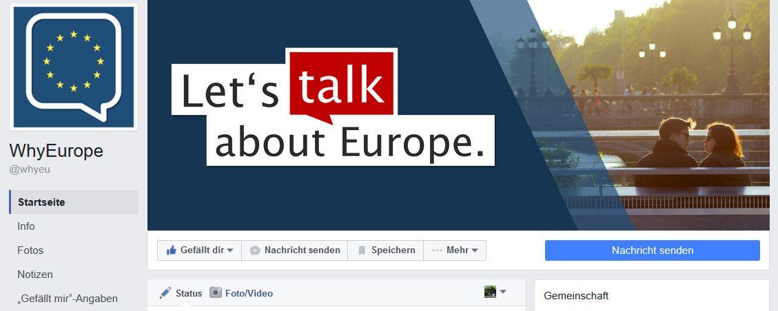 Three students had enough of Anti-EU-Populism © f1rstlife /Elisa Miebach
