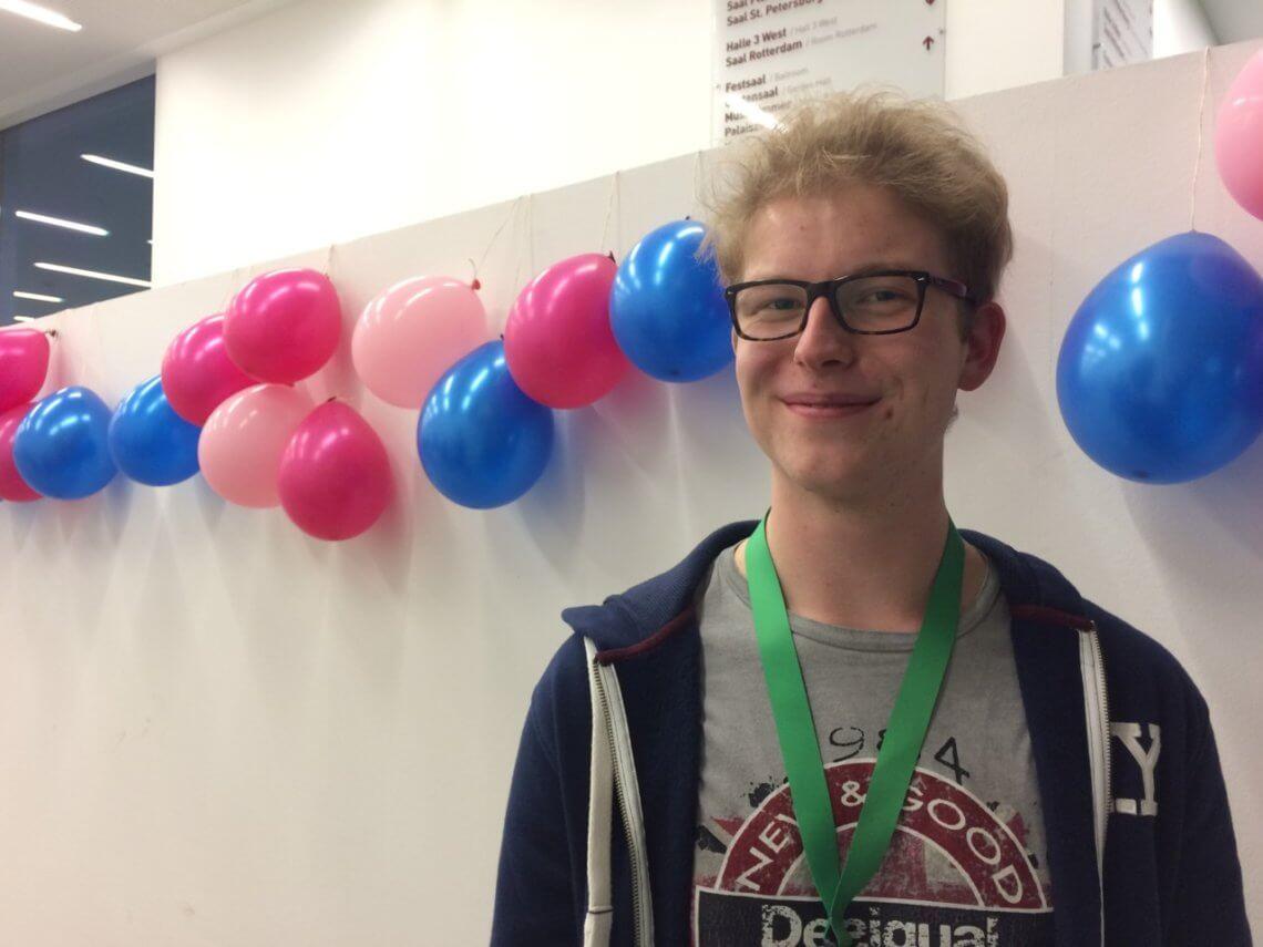 Max Müller ist 19 Jahre alt und studiert in Mannheim.