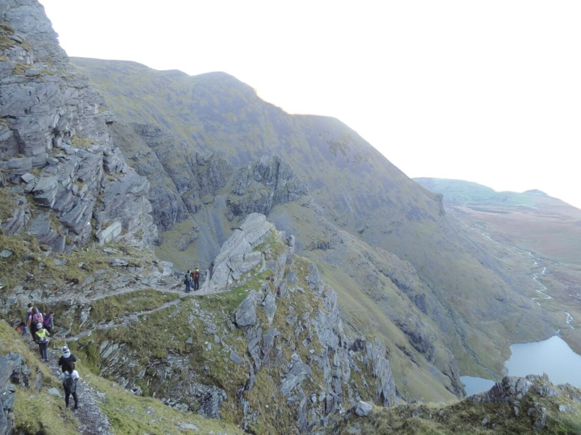 The steep and rocky way down the Carrauntoohil, a great adventure with the OPC. © f1rstlife / Sabrina Wideburg