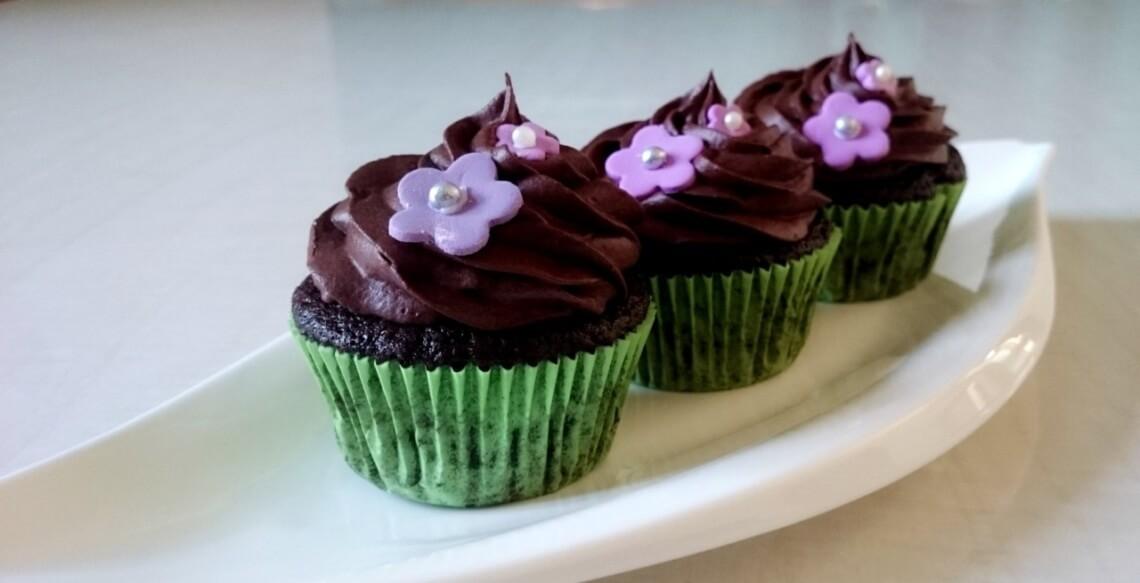 Fertige Cupcakes
