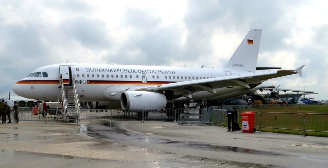 """Die deutsche """"Air Force One"""" der Flugbereitschaft BMVg. Alle Bilder © f1rstlife / Jan Bischoff"""