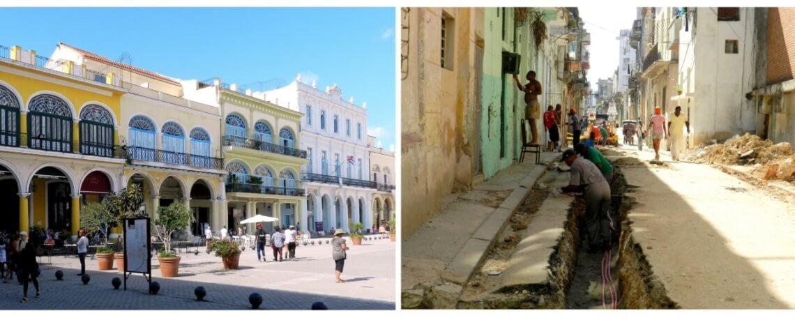 In Havanna ist der Kontrast zwischen der für Touristen sorgfältig hergerichteten Altstadt und anliegenden Stadtvierteln besonders gut sichtbar. © f1rstlife / Gefjon Off