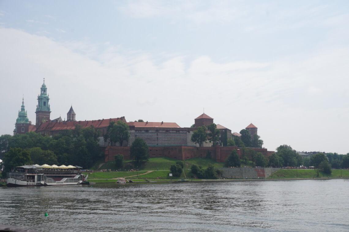 Die Wawelburg.