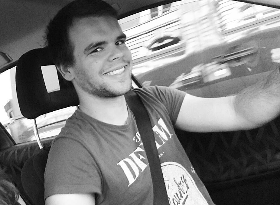 Noch grinst er, dein Fahrer. Das kann sich aber auch schnell wieder ändern... Foto: Rudolf Gehrig