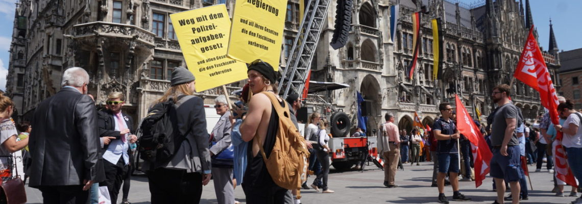 Bayerisches Polizeigesetz: Der Widerstand bleibt