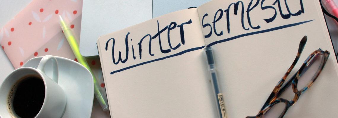 Wintersemester: Motiviert durch die kalte Jahreszeit