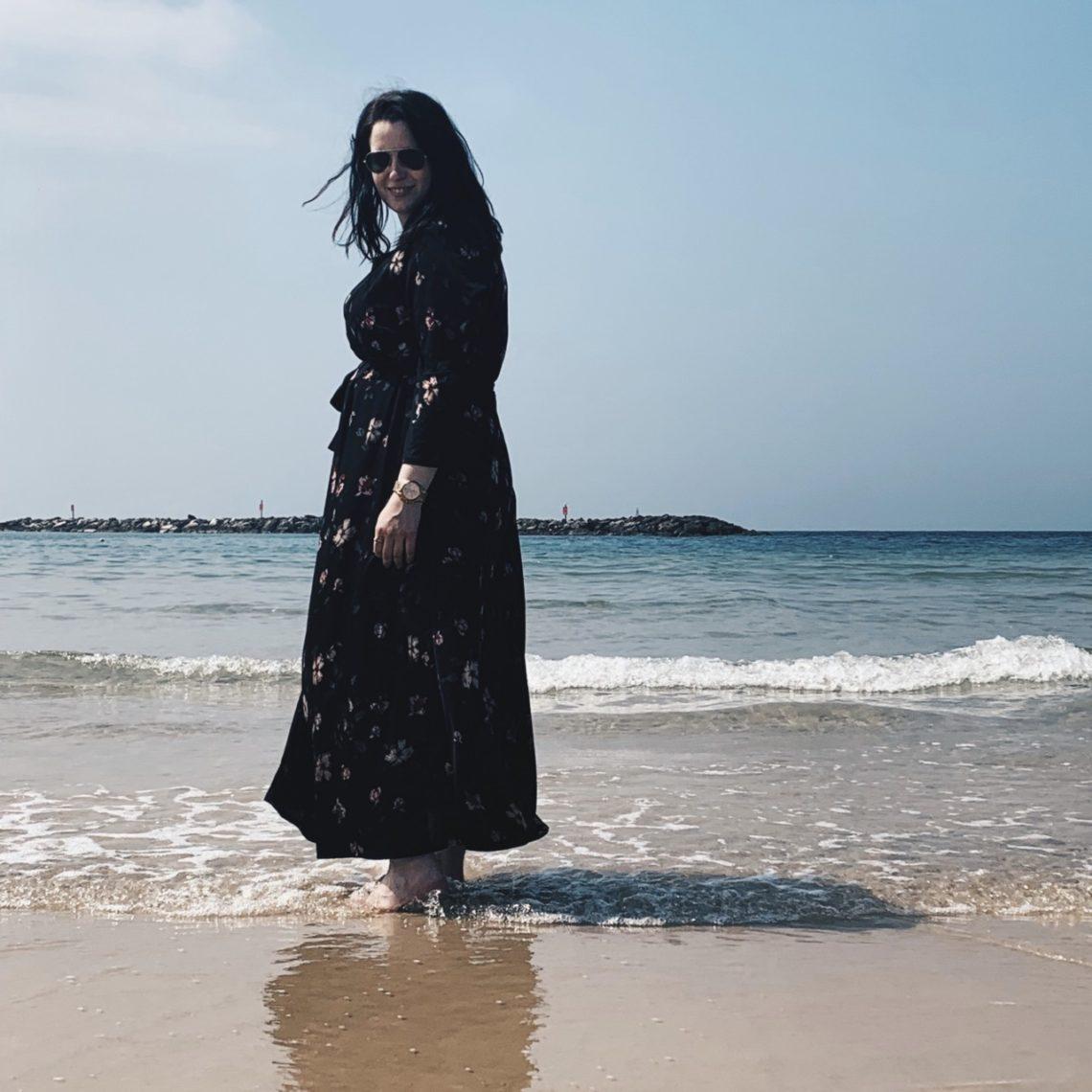 """""""Vorteil eines Auslandspraktikums: Oft habt ihr auch am Wochenende die Möglichkeit das Land zu erkunden, wie hier in Tel Aviv"""". Foto: © f1rstlife / Michelle Grebe"""