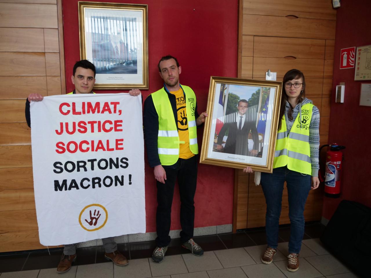 #DécrochonsMacron: Gewaltloser Widerstand als Kraft gegen die Klimakrise | f1rstlife