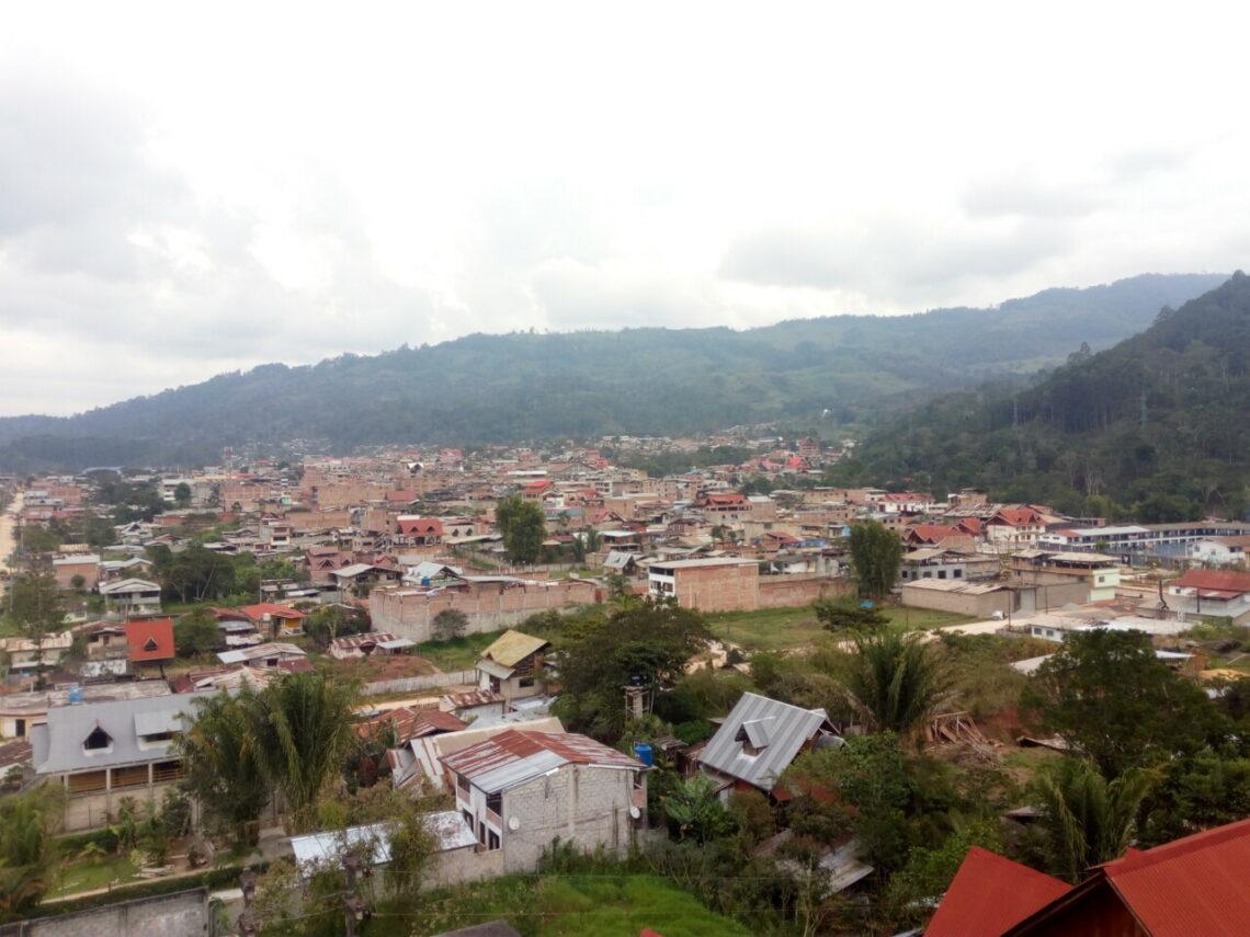 Blick auf Villa Rica