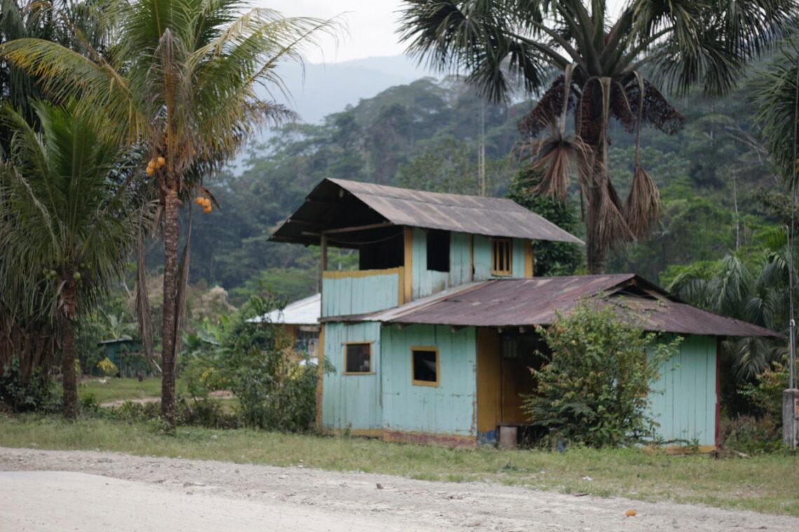 Indigene Gemeinschaft in Zentralperu